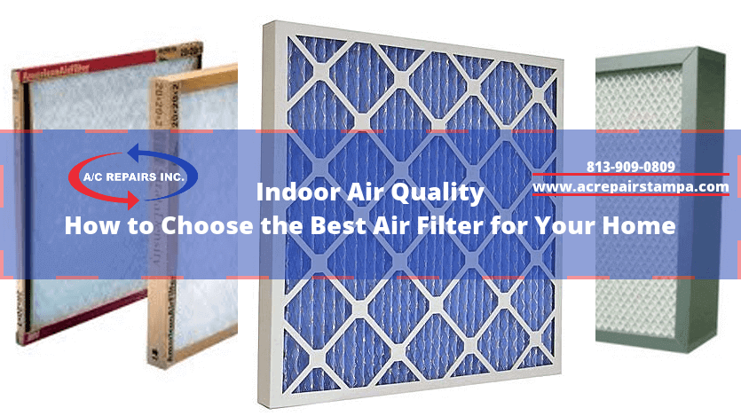 indoor air quality ac repair tampa - Air Filter Home