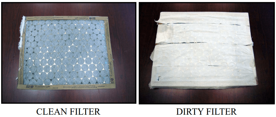 HVAC Maintenance - Change air filter every month