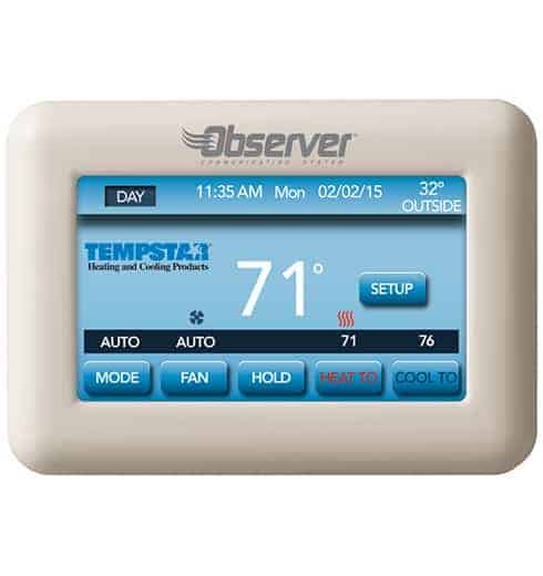 Observer Smart Programmable Thermostat