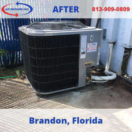 AC repair Brandon after