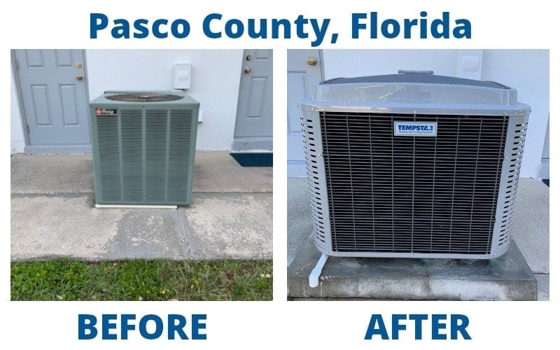 pasco count before after ac replacement