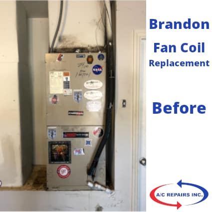 Brandon fan coil replacement before