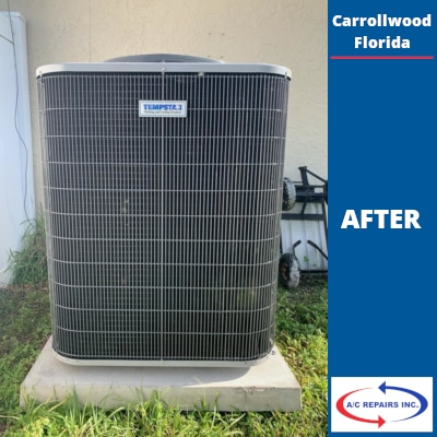 ac repair Carrollwood - after