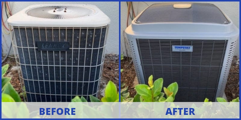 wesley chapel ac replacement: before - after