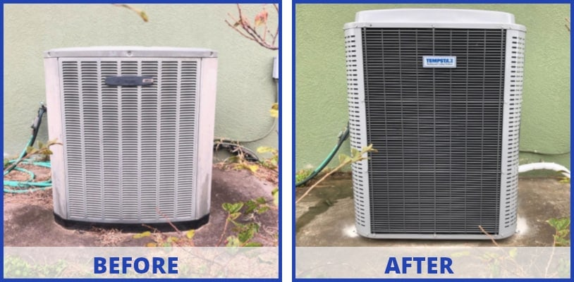 before-after - Wesley Chapel, Florida